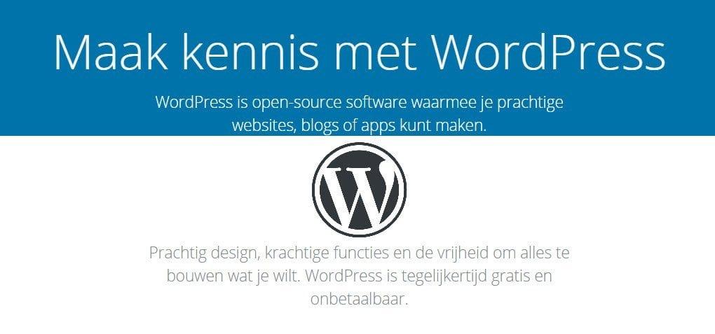 Waarom werken wij graag met WordPress?